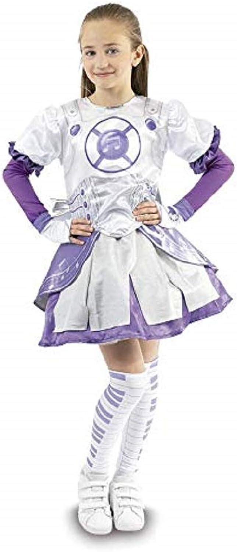 GIO  Novidea Costume Vestito autonevale Miracle Tunes Emily Idol Warrior 4 5 6 7 Anni (6-7 Anni Medium)