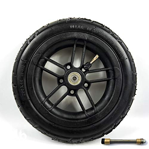 L-faster 200x35 Pneumatic Tyre Use Nylon Hub Fit M8 Or M6 Axle 8\