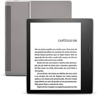 Kindle Oasis 10 Geração 8GB Wi-Fi Amazon Grafite