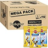 Pedigree DentaStix - Daily Dental Chews For Small Dogs (5-10 kg), 1 Box - 112 Sticks