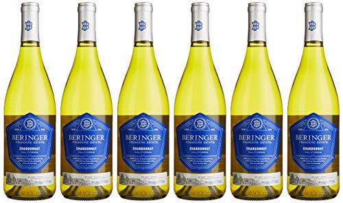 Beringer Chardonnay Founders' Estate 2017 Kalifornien Wein (6 x 0.75 l)