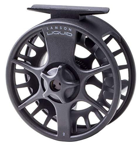 Waterworks-Lamson Liquid Fly Fishing Reel (Black, 3.5)