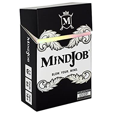 MINDJOB - an Adult Party Game That Blows Minds and Spills Drinks (with Optional nsfw and Drinking Rules for 2-8 Players)