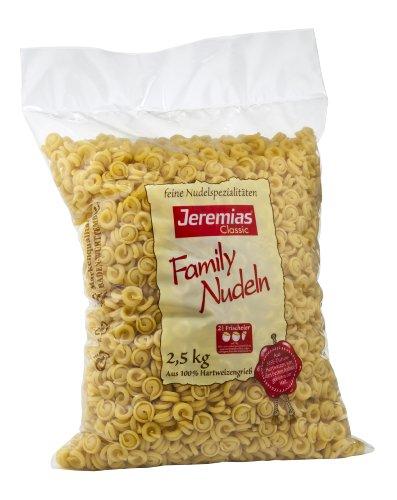 Jeremias Schneckli, Family Frischei-Nudeln, 1er Pack (1 x 2.5 kg Beutel)