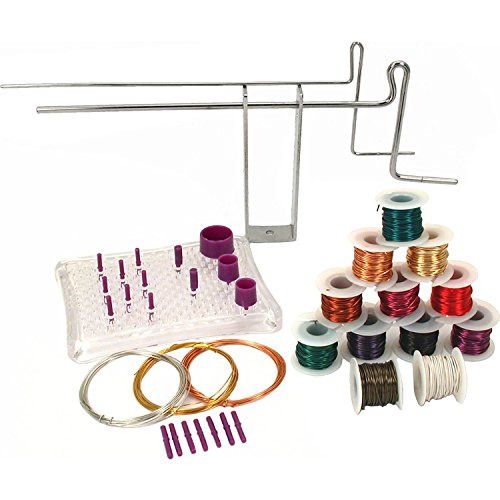 Deluxe Bend & Coil Jig Tools Wire Wrapping Starter Set