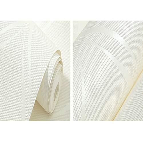 ZR Tapetenschlafzimmerwandbelagswohnzimmertapetenrolle der modernen Tapetenrolle geometrische, beige, weiß, grau (Farbe : B)