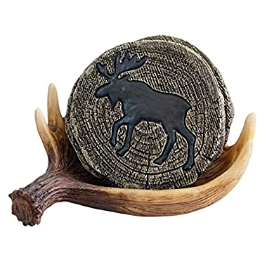 LL Home Moose Coasters