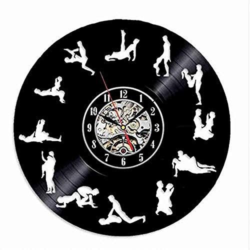 Woondecoratie Modern Car Design Wandklok Zwart Vinyl LP Record klokken Beste geschenken