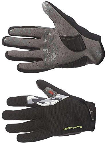 Guanti Invernali MTB Northwave Enduro Winter Gloves Taglia M (Nero/GialloFluo, Medium)