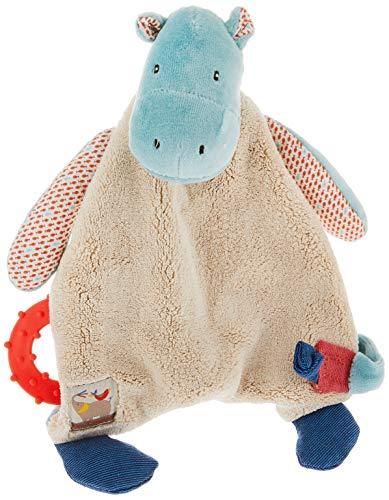 MOULIN ROTY - Doudou attache tétine hippopotame Les Papoum de