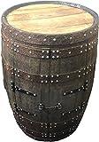 Cheeky Chicks Roble Macizo Barril Whisky Armario Rústico Reciclado Bebidas Patio Mesa Hogar BAR