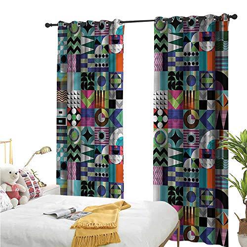 Bonamaison Funda de cojín Decorativa, poliéster, Multicolor, 43 x 43 cm
