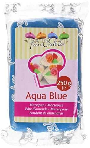 Funcakes Pâte d'amandes Bleu 250 G FC99375
