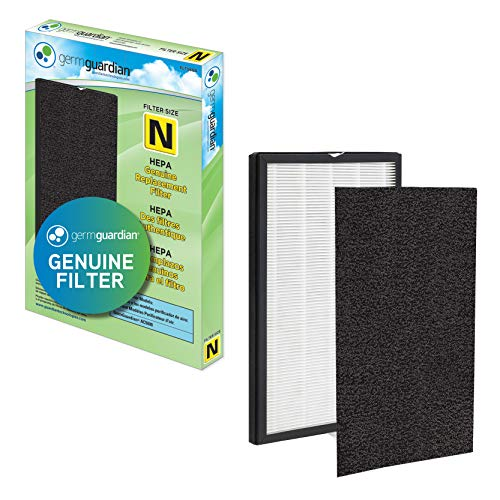 Germ Guardian FLT5600 True HEPA Genuine Air Purifier Replacement Filter N with Activated Charcoal Layer for GermGuardian Purifier AC5600