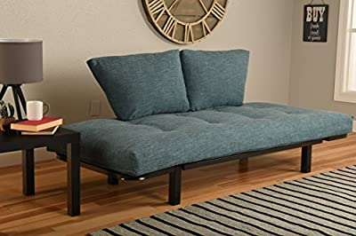 Kodiak Best Futon Lounger - Mattress ONLY - Sit Lounge Sleep - Small Furniture for College Dorm, Bedroom Studio Apartment Guest Room Covered Patio Porch