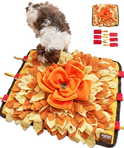 Sniffiz Smelly Matty Snuffle Mat for Dogs - Interactive Food IQ Enrichment...