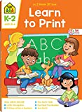 School Zone - Learn To Print Workbook - 64 Pages, Ages 5 to 8, Kindergarten, 1st Grade, 2nd Grade, Writing, Printing, Handwriting, Letters, Numbers, and More (School Zone I Know It! Workbook Series)