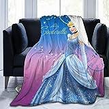 Romantic Deer CinderElla Ultra Soft Micro Fleece Blanket Boys/Girls/Teen/Kid Warm Flannel Blankets and Throw Blankets All Season Sofa Bed Blanket and Living Room,60'X50'