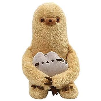 GUND Pusheen with Sloth Plush Stuffed Animal Set of 2 Multicolor 13