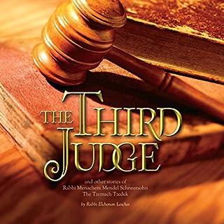 The Third Judge audiobook cover art