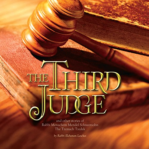 The Third Judge audiobook cover art