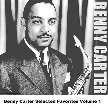 Benny Carter Selected Favorites, Vol. 1