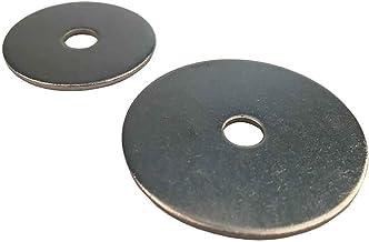 Carrosserieschijven voor M12 (12,5 x 50) roestvrij staal A2 (20 stuks) - grote sluitringen V2A spatbordschijven