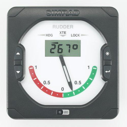 Simrad IS20 Rudder Afficheur d'angle de barre + câble Simnet 3 m Noir