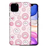 WiLLBee Compatible with iPhone 12 Pro/iPhone 12 Case (6.1inch) [Slim Fit] The Aristocats Thin Hard Matte Surface Excellent Grip Cover - Marie Icon