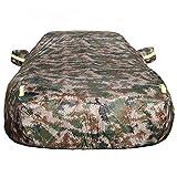 OOFAYZYJ - Telo di copertura per auto, impermeabile, antipolvere, antigraffio, antivento, anti-UV, in cotone foderato, adatto per Bugatti Sedan, Galibier