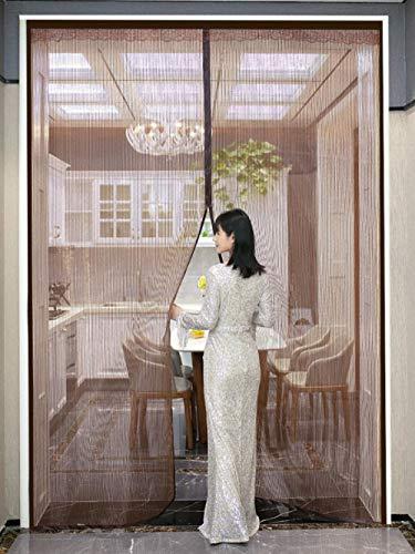 Xervg Balkondeur gordijn zomer anti-muggen en vliegenbestendige ventilatie slaapkamer balkon