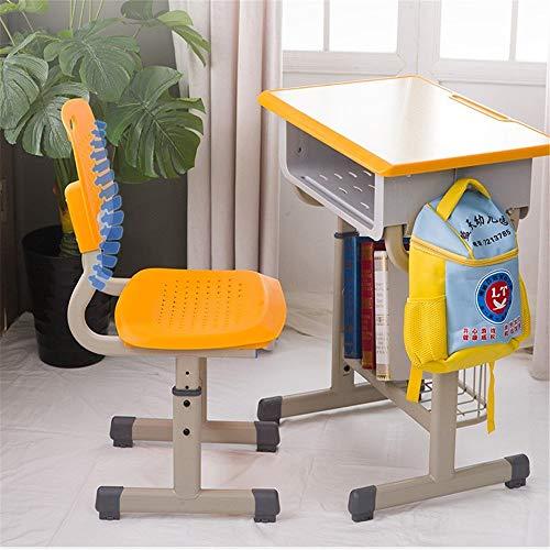 Niños mesa de estudio Escritorios y sillas de niños en edad escolar elevable Escritorio Estudio de Formación clase de recuperación turística del escritorio del hogar Inicio de jardín de infanc