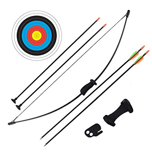 Outdoor Youth Recurve Bow and Arrow Set Children Junior Archery Training...