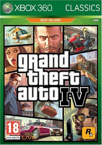 Rockstar Games Grand Theft Auto IV, Xbox 360 - Juego (Xbox 360, Xbox 360, Acción   Aventura, M (Maduro))