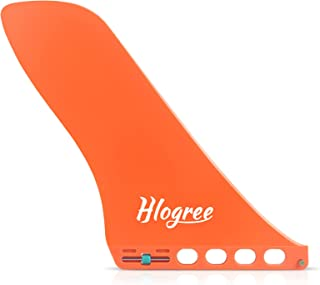 """HLOGREE 9"""" Surfboard Fin, Inflatable Paddleboard Fin, Surf & SUP Single Fin Quick Release Detachable Longboard Center Fin ..."""
