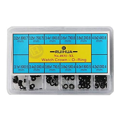 #N/A 300 Packungen Mini O Wasserdichte Uhren Dichtungen Zubehör Ersatzteile