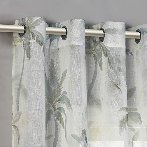 tende soggiorno eleganti PimpamTex - Tenda decorativa con motivo stampato per soggiorno e camera da letto