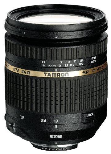 Tamron AF 17-50 mm F/2.8 XR Di II VC, LD, ASL (IF) 8 - Objetivo para Canon (Distancia Focal 17-50mm, Apertura f/2.8, estabilizador óptico, Macro, diámetro: 72mm) Negro