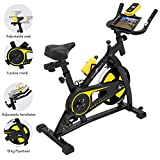 Nero Sports Cyclette Aerobica da Spinning Allenamento Indoor...
