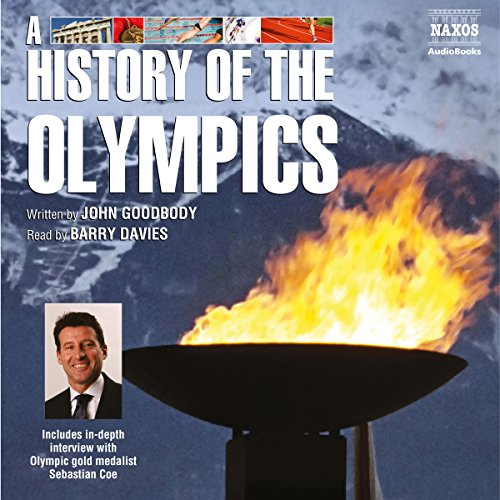 A History of the Olympics audiobook cover art