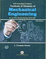 Textbook Of Elements Of Mechanical Engineering {As Per Vtu's Revised Syllabus 2018-2022},5/Ed {Pb}