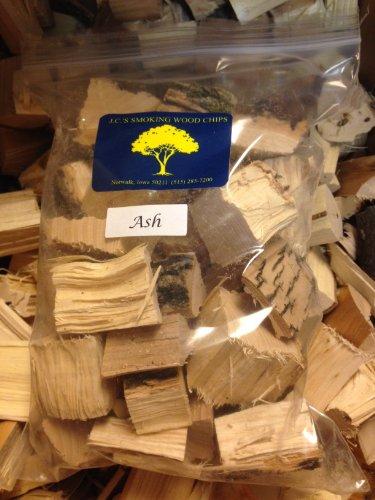 J.C.'s Smoking Wood Chunks - Gallon Sized Bag - Ash