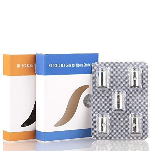 Nexus NX Vaporesso Verdampferköpfe CCELL Traditional Coils Head Starter Kit (NX Traditional (Orange))