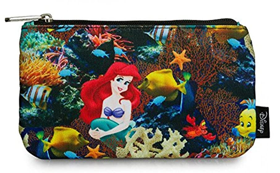Loungefly Disney The Little Mermaid Ariel Photo Real School Pencil Case
