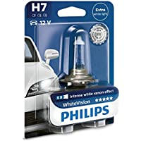 Philips WhiteVision Xenon Effect H7, lámpara de faro 12972WHVB1, blister individual