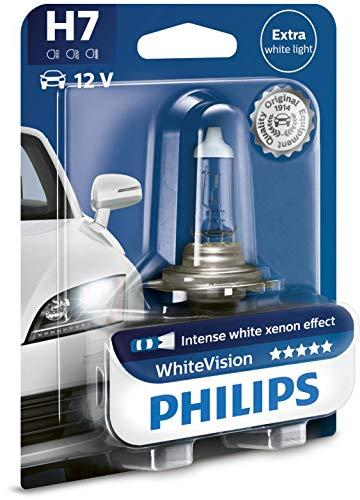 Oferta de Philips 12972WHVB1 WhiteVision Lámpara Halógena, 60% más de Luz, 4300K