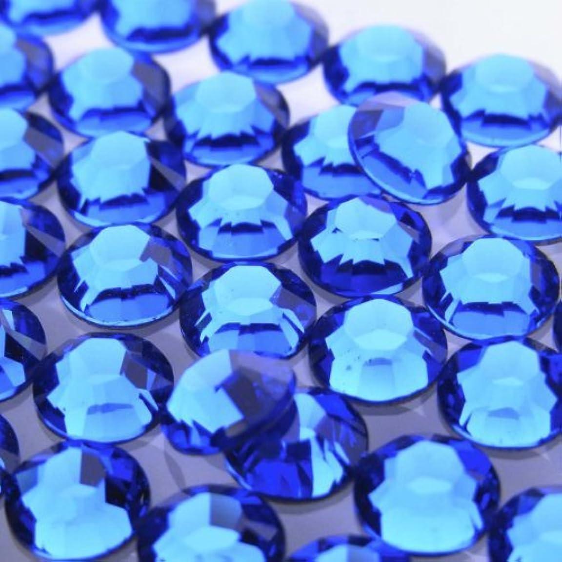先生医薬維持する2058カプリブルーss16(100粒入り)スワロフスキーラインストーン(nohotfix)