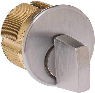 KABA ILCO 7161TK2-26D 1 inch Mortise Thumb Turn Cylinder Sat Chrome - 116453