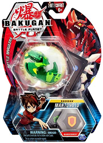 Bakugan, Mantonoid, 2-inch Tall Collectible Transforming Creature, for Ages 6 and Up