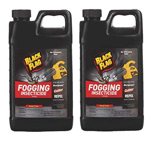 Black Flag Outdoor Fogging Insecticide, 64 oz, Pack of 2